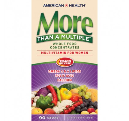 More Than A Multiple For Women Whole Food Concentrate 90 Tablets