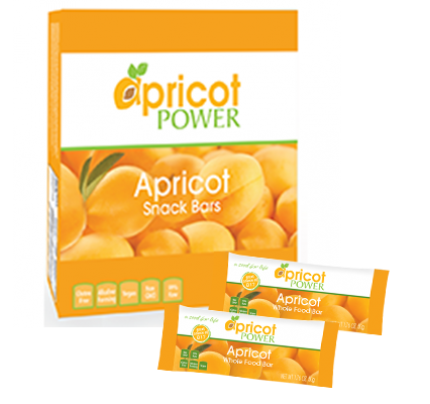 Whole Food Apricot Snack Bar 1.76 oz