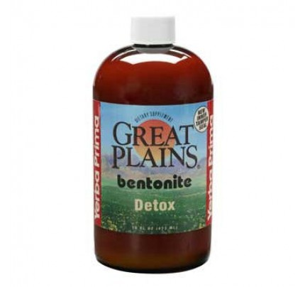 Great Plains Bentonite Clay Montmorillonite Detox 32oz.
