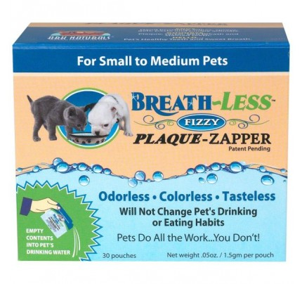 Breath-Less Fizzy Plaque Zapper Enzymes for Pets 50 mg Packet