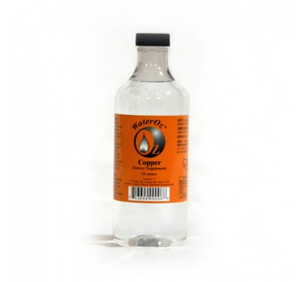 Copper Ionic Mineral Water 50 ppm