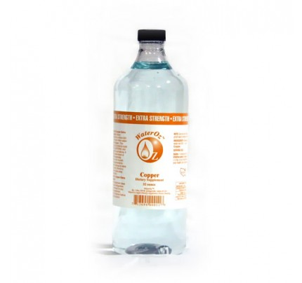Copper Ionic Mineral Water 4x Concentrate 200 ppm