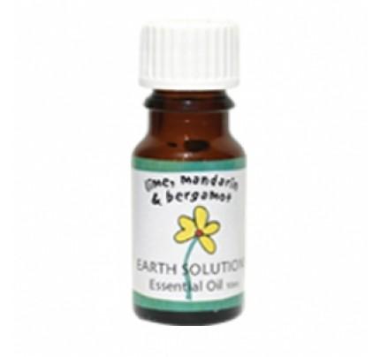 Lime, Mandarin & Bergamot,  Essential Oil Blend 10 mL