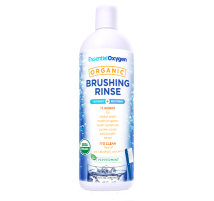 Organic Brushing Rinse 16oz.