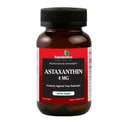 Astaxanthin 4 mg 30 Softgels