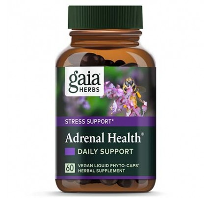 Adrenal Health Daily Support Vegan Liquid Phyto-Caps Capsules