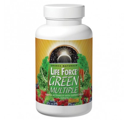 Life Force Green Multiple Tablets