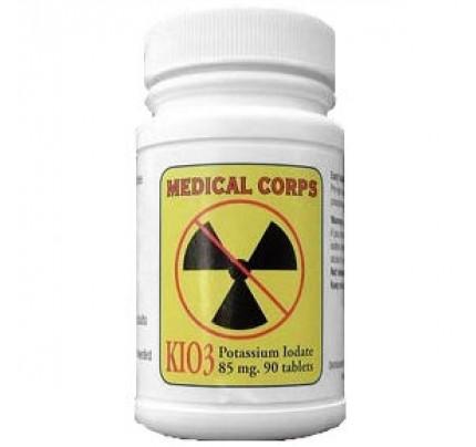 Potassium Iodate KIO3 85 mg 90 Tablets