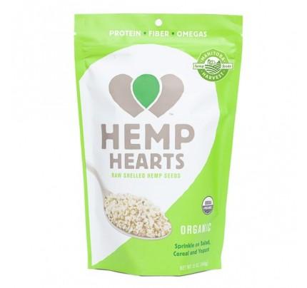Hemp Hearts Organic Raw Shelled Hemp Seeds 12 oz.
