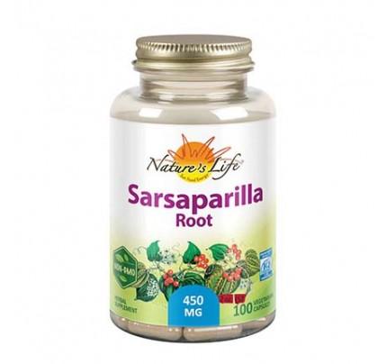 Sarsaparilla Root 450 mg 100 Vegetarian Capsules