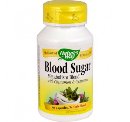 Blood Sugar Metabolism Blend with Cinnamon & Gymnema 90 Capsules