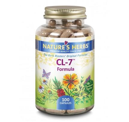 CL-7 Formula 381 mg 100 Capsules