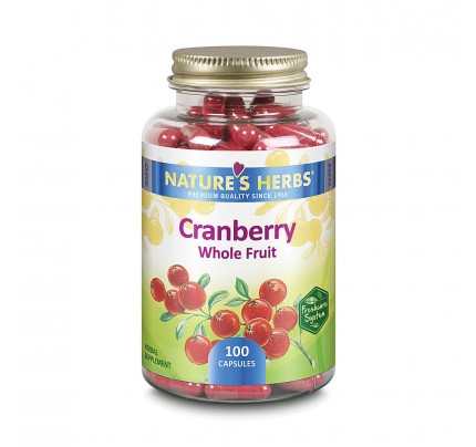 Cranberry Whole Fruit 468 mg 100 Capsules