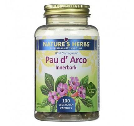 Pau d'Arco Inner Bark 500 mg 100 Capsules