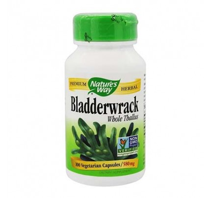 Bladderwrack Whole Herb 580 mg 100 Vegetarian Capsules