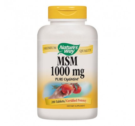 MSM 1,000 mg 200 Tablets