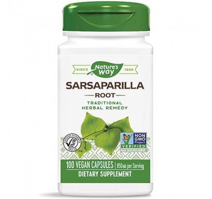 Sarsaparilla Root 850 mg 100 Vegan Capsules