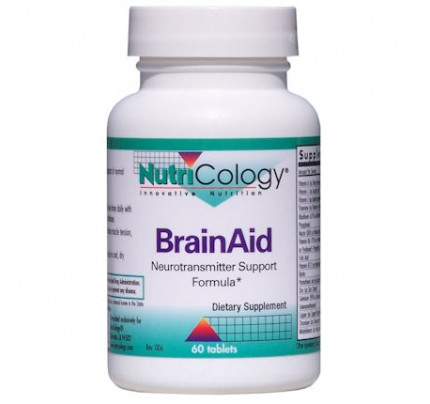 BrainAid Neurotransmitter Support Formula 60 Tablets
