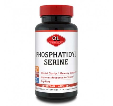 Phosphatidylserine 100 mg 60 Softgels