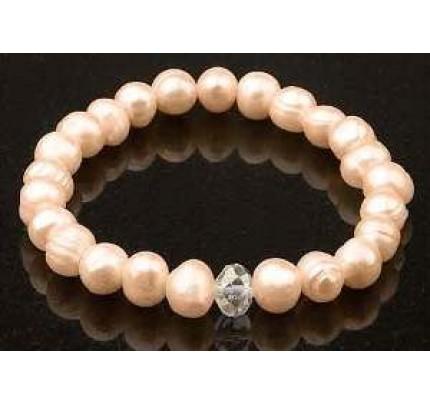 Keilani Pink Freshwater Pearls Bracelet