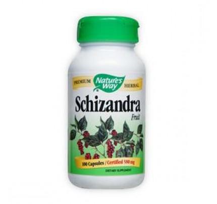 Schizandra Berry Fruit 580mg 100 Capsules