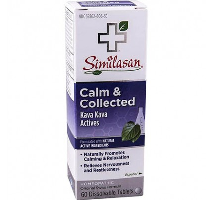 Calm & Collected Dissolvable 60 Tablets