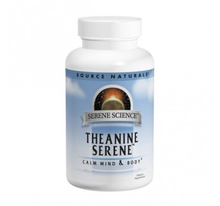Theanine Serene Calm Mind & Body 800 mg 120 Tablets