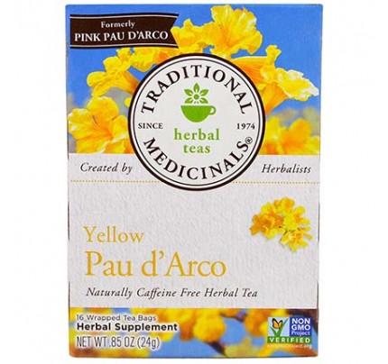 Pau d'Arco Tea Yellow 16 Tea Bags