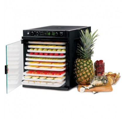 Sedona Express Rawfood Dehydrator with BPA-Free Plastic Trays