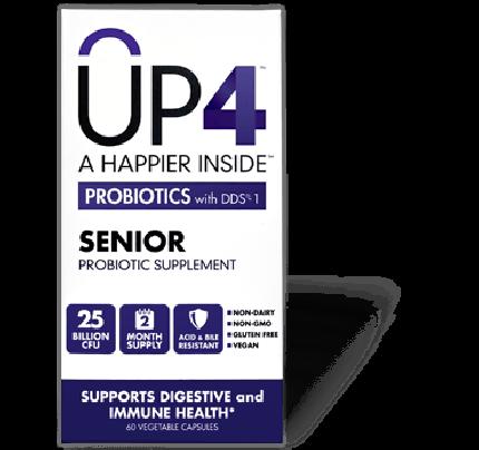 UP4 Senior Probiotic 60 Vegetarian Capsules