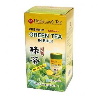 Loose Premium Bulk Lemon Green Tea 5.29 oz.