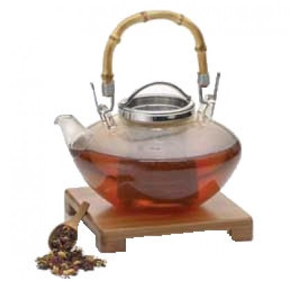 Teapot Zen Glass 42oz. / 1.2 Liter