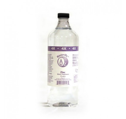 Zinc Ionic Mineral Water 4x Concentrate 400 ppm