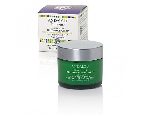 Andalou Naturals Fruit Stem Cell Night Repair Cream  1.7 oz.