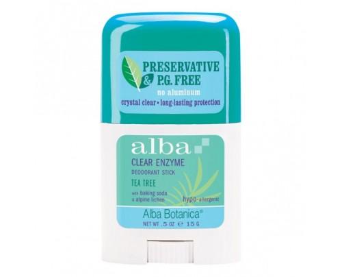Alba Botanica Deodorant Stick Tea Tree .5oz.