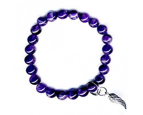Zorbitz Art Of Luck Amethyst - Protection Bracelet
