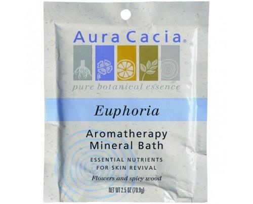 Aura Cacia Mineral Bath Salts Euphoria 2.5oz.