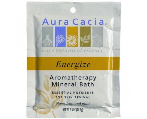 Aura Cacia Mineral Bath Salts Energize 2.5oz.