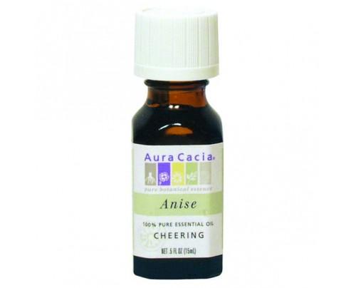 Aura Cacia Essential Oil Anise (Pimpinella anisum) 0.5oz.