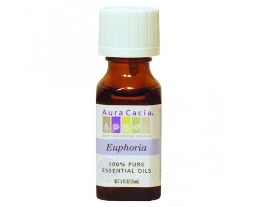 Aura Cacia Aromatherapy Oil Blend Euphoria 0.5oz.
