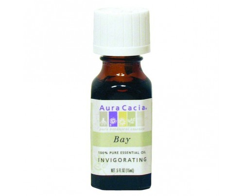 Aura Cacia Essential Oil Bay (Pimenta racemosa) 0.5oz.