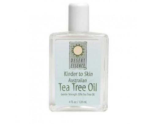 Desert Essence Kinder To Skin Tea Tree Oil 4oz.
