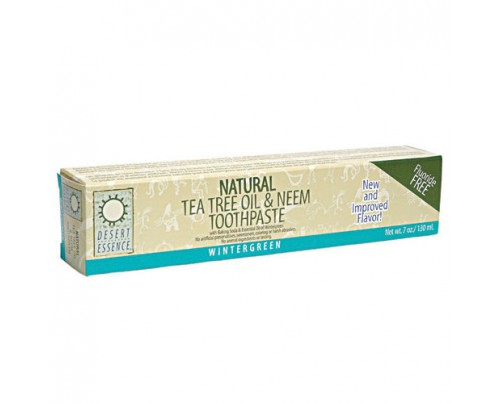 Desert Essence Toothpaste Tea Tree Neem Wintergreen