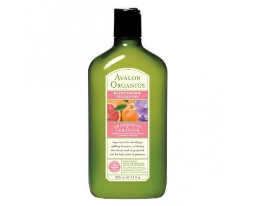 Avalon Organics Shampoo Grapefruit & Geranium - Refreshing 11oz.