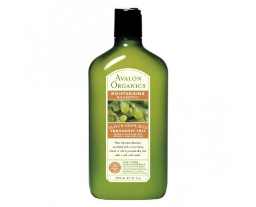 Avalon Organics Shampoo Olive & Grape Seed - Moisturizing 11oz.
