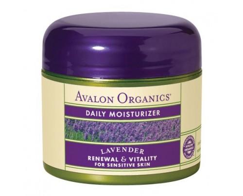 Avalon Organics Facial Moisturizer Organic Lavender 2oz.