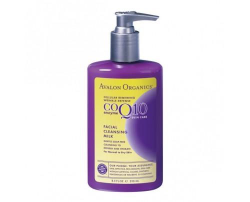 Avalon Organics CoQ10 Facial Cleansing Milk 8.5oz.