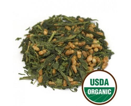 Starwest Botanicals Organic Genmaicha Tea (China) Bulk 1lb.