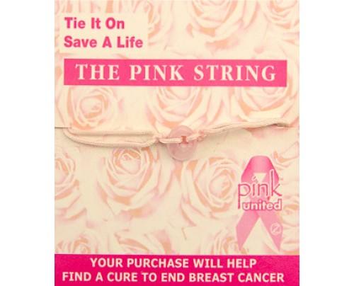 Zorbitz Live, Love, Hope Pink String