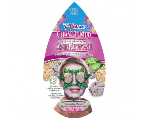 7th Heaven Clean Up Mud Volcanic Mud Exfoliating Mask